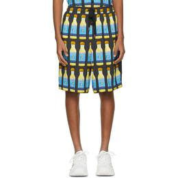 Dolce&Gabbana Grey Perfume Shorts GYOMAT FS8B1