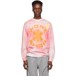 032C Pink Cosmic Workshop Long Sleeve T-Shirt 1.012
