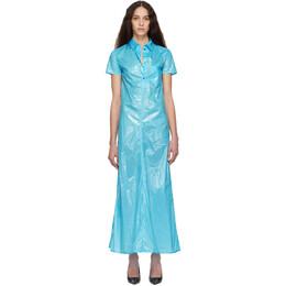 Kwaidan Editions Blue Shirt Dress SS19D014_PP