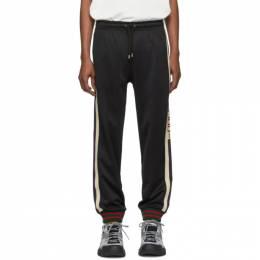 Gucci Black Jersey Lounge Pants 474635 X5T39