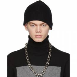 Random Identities Black Cashmere Beanie A-01