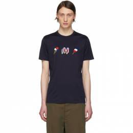 Moncler Navy Ice Cream T-Shirt 80430 00 8390Y