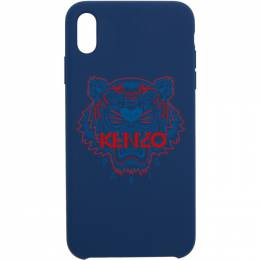 Kenzo Navy and Red Tiger iPhone Xand Case 191387M15300301GB