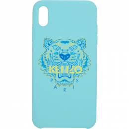 Kenzo Blue and Yellow Tiger iPhone Xand Case 191387M15300401GB