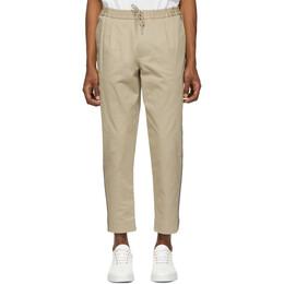 Moncler Tan Side Stripe Sportivo Trousers 11435 90 57448