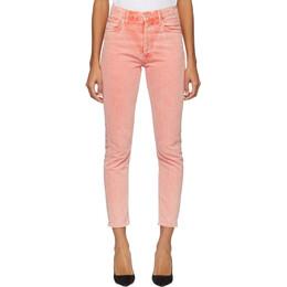 Agolde Orange Jamie Hi Rise Jeans A045B-1083