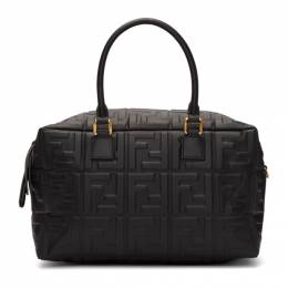 Fendi Black Small Forever Fendi Boston Bag 8BL141 A72V