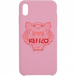 Kenzo Pink and Red Tiger iPhone Xand Case 191387M15300501GB