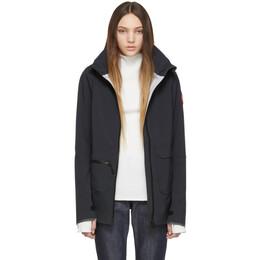 Canada Goose Black Pacifica Raincoat 191014F06300104GB