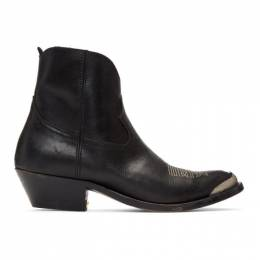 Golden Goose Black Young Boots GCOWS274.A1