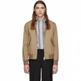 Burberry Tan Whitstable Jacket WHITSTABLE 8009556