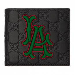 Gucci Black LA Angels Edition GG Wallet 547787 DMTGN