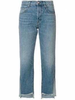 J Brand укороченные асимметричные джинсы JB001331