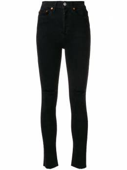 Re/Done укороченные джинсы с завышенной талией 1893WHRAC1