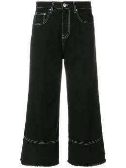 MSGM расклешенные укороченные джинсы 2441MDP41L184294