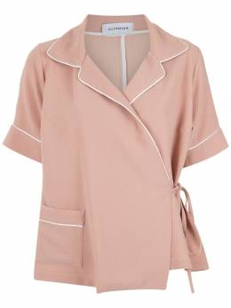 Olympiah wrap style shirt 118315