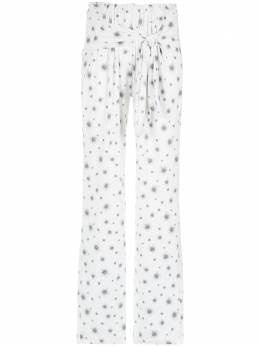 Olympiah printed trousers 118240E