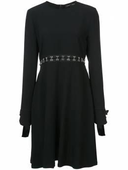Proenza Schouler платье с длинными рукавами R182365AY011M