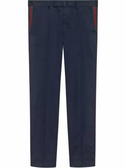 Gucci брюки в стиле 60-х с полоской Web 468518Z3732