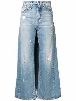 R13 джинсы с панелями в стилистике юбки R13W7276781