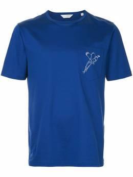 Gieves & Hawkes футболка с принтом G3770ER07037