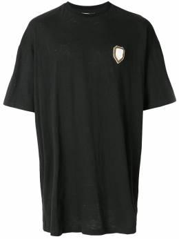 Ih Nom Uh Nit футболка кроя оверсайз с декором NMS18217