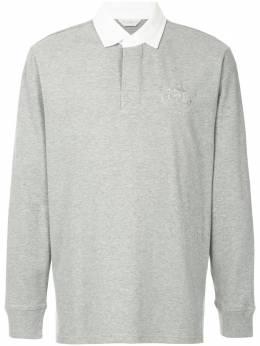 Gieves & Hawkes рубашка-поло с длинными рукавами G38I7TI01095