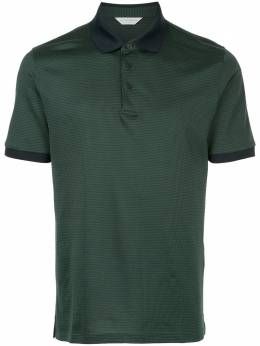 Gieves & Hawkes houndstooth polo shirt G37H9ER10046
