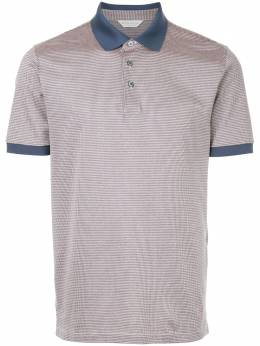 Gieves & Hawkes houndstooth polo shirt G37H9ER10073