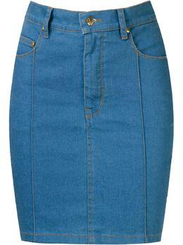 Amapo джинсовая юбка с завышенной талией AI2033