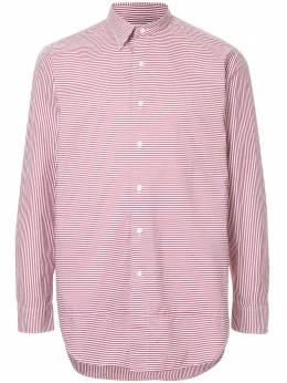 Kent & Curwen приталенная рубашка в полоску K3765ER010
