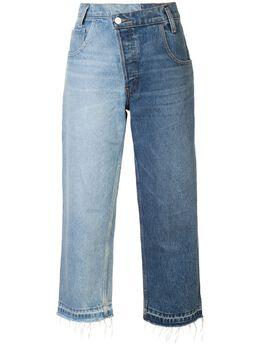 """Monse широкие джинсы дизайна """"пэчворк"""" MP18D0707DNM"""