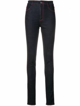 Stella McCartney джинсы скинни с высокой талией 524826SLH27