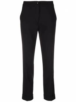 Etro cropped slim-fit trousers 132150524