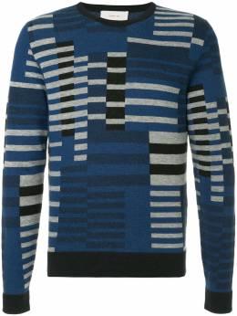 Cerruti 1881 geometric knit sweater C3867EI44037