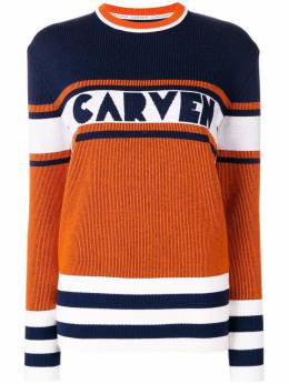 Carven panelled jumper 8607PU022