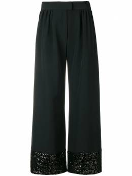 Gianluca Capannolo sequins embellished flared trousers 18IP452650