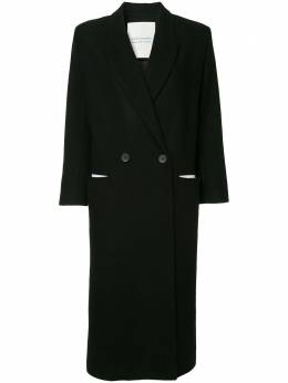 Walk Of Shame single breasted coat CT007PF18