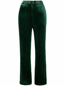 Faith Connexion high-waisted striped trousers M1518T00049