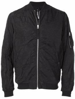 Maharishi куртка-бомбер с мятым эффектом 6506