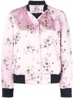 Kenzo floral print bomber jacket F862BL0555D3