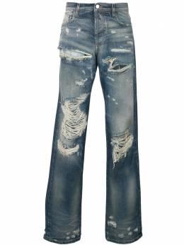 Faith Connexion классические джинсы с рваным эффектом X5501D00050
