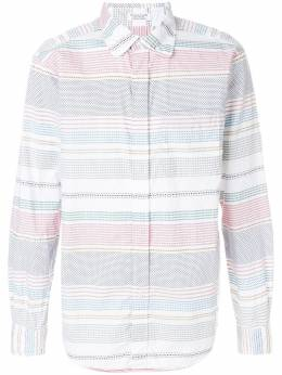 Engineered Garments рубашка в полоску 'Dobby' DOBBYSTRIPESHIRT