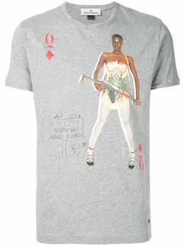 Vivienne Westwood футболка 'Queen of Diamonds' S25GC0383S22634