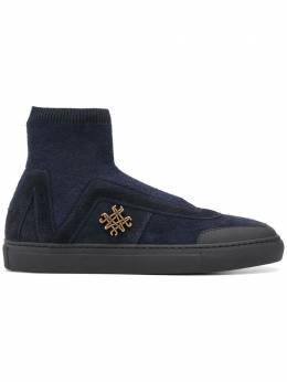 Mr & Mrs Italy кроссовки с вязаным носком SK049