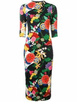 Alice + Olivia floral print midi dress CC810P37544