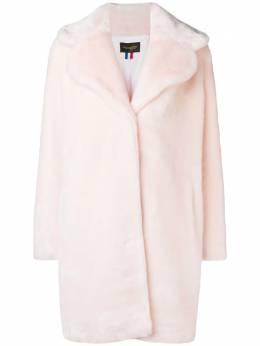 La Seine & Moi Louve faux fur coat LOUVEAW19