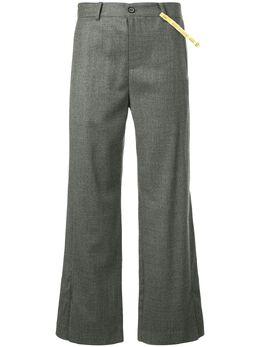 Ader Error классические укороченные брюки 18AFWPT14GR1