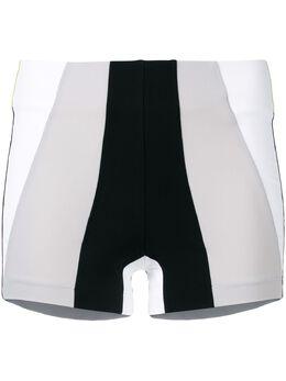 No Ka' Oi шорты дизайна колор-блок P3CSHNOKW57086A0