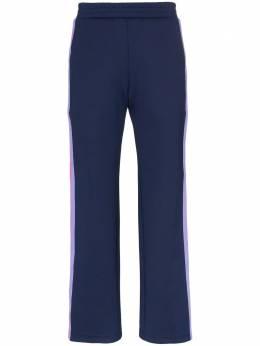 Mira Mikati брюки с полосками и кнопками по бокам TRS013SS19